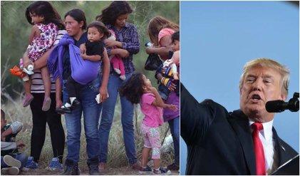 Trump quiere quitar derecho a asilo a mujeres migrantes en situación de violencia