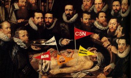 Disputas en la morgue de los medios