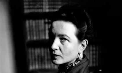 """Simone de Beauvoir y el manifiesto de las """"sinvergüenzas"""" por el aborto legal"""