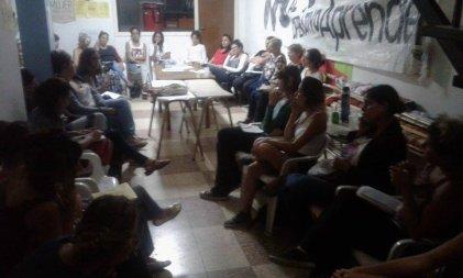 La Plata: Primera reunión en SUTEBA hacia el paro internacional de mujeres