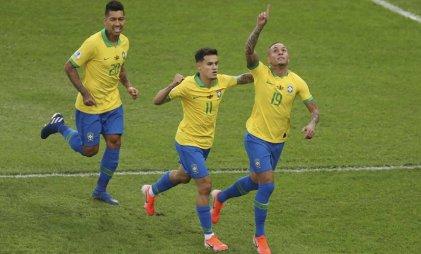 Brasil le ganó 3-1 a Perú y se quedó con la Copa América