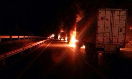 Otro caso de auto atentado para intentar culpar a pueblo mapuche