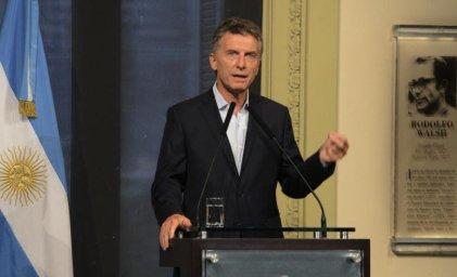 """Macri: """"El paro no ayuda en nada"""""""