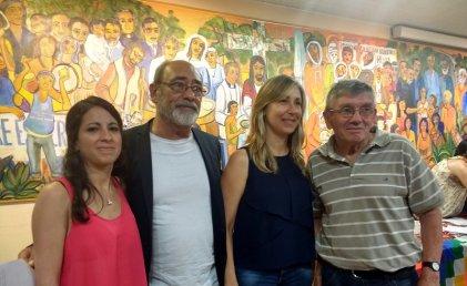Peréz Esquivel distinguió a referentes de derechos humanos