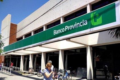 Paro y movilización en Banco Provincia