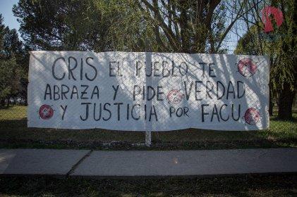 Pedro Luro acompañó a Cristina, la familia y amigos de Facundo Castro
