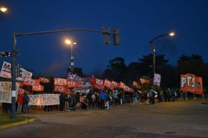 Rosario: comienza la jornada de paro con un corte en Oroño y Circunvalación