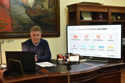 """El intendente Héctor Gay admite """"no manejar"""" cuántos despidos y cierres hay en Bahía Blanca"""