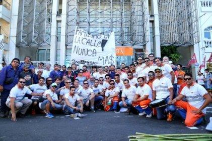 Berisso: un gran paso de la lucha de los trabajadores de Tec Plata