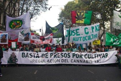 Importantes movilizaciones en la Marcha Mundial de la Marihuana