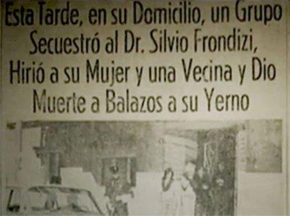 El asesinato de Frondizi, Troxler y Ortega Peña
