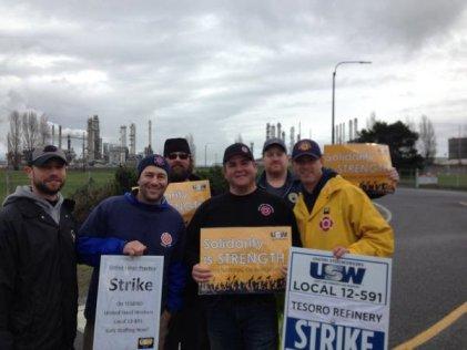 Se extiende la huelga en refinerías de Estados Unidos