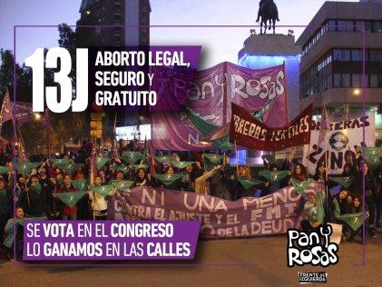 Pan y Rosas presenta proyecto de asueto en la UNCo por el aborto legal