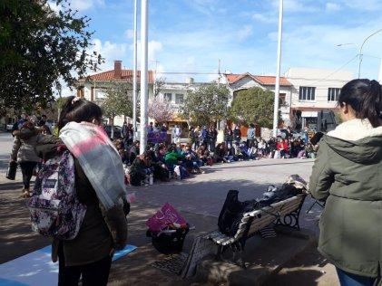 La marcha educativa se expresó en Punta Alta