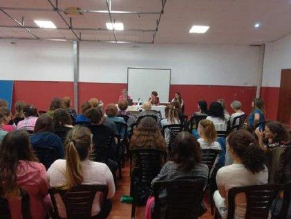 La Plata: se realizó charla sobre historia del feminismo en el Centro Israelita Max Nordau