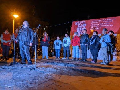 """Cipolletti: el FPDS realizó un acto en el marco de su campaña """"Con ellos No"""""""
