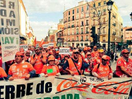 La lucha de clases no para por las elecciones: trabajadores de Coca-Cola convocan a nuevas protestas