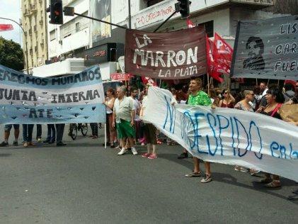 La Plata: inicio de paritarias, movilización de docentes y estatales
