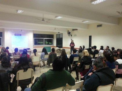 Pacheco: exitoso arranque de ciclo de cine en Instituto N° 140