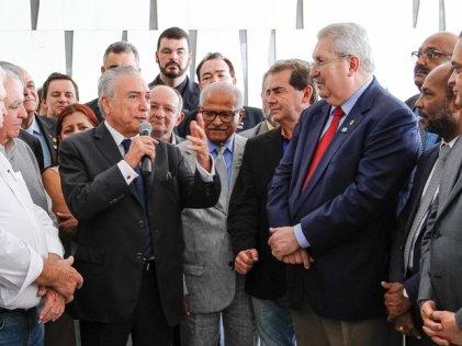 Las centrales sindicales brasileras respaldan las medidas de Temer