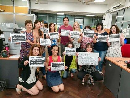 La Plata: la lucha de la UEP sigue sumando apoyo