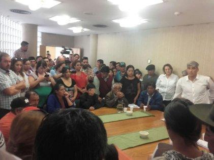 Neuquén: se reunieron comunidades de escuelas rurales con los ministros Storioni y Lara