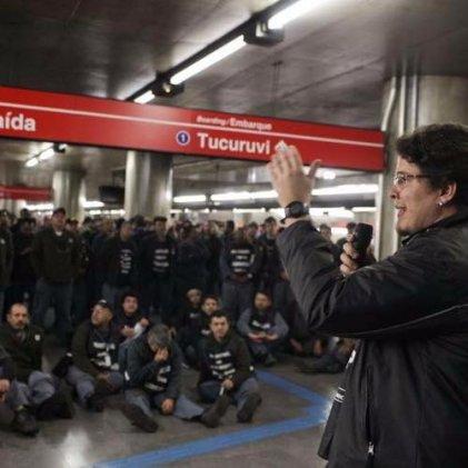 La Justicia prohíbe la huelga en el Metro de San Pablo, los trabajadores la mantienen