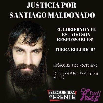 Marcha por Santiago Maldonado: El doble discurso de la FCPyS