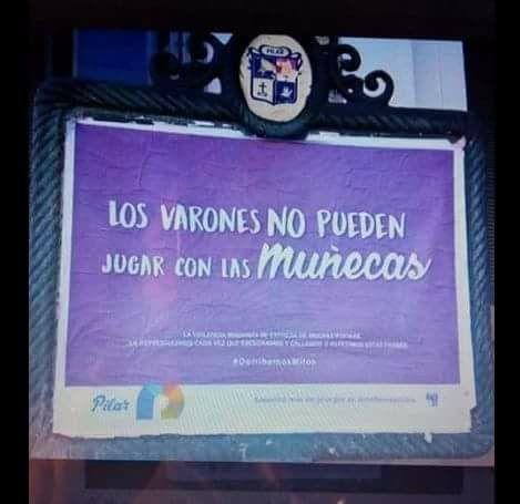 Polémica campaña contra la violencia de género desató críticas en Pilar
