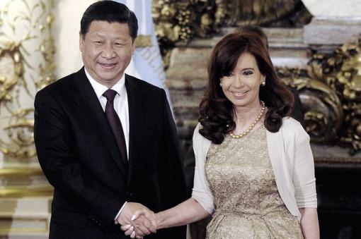 Cristina llegó a China con varios acuerdos comerciales y financieros en carpeta