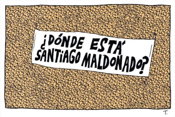 Marcharán en Neuquén por la aparición con vida de Santiago Maldonado