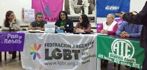 La Plata: conferencia por la implementación del Cupo Laboral Trans