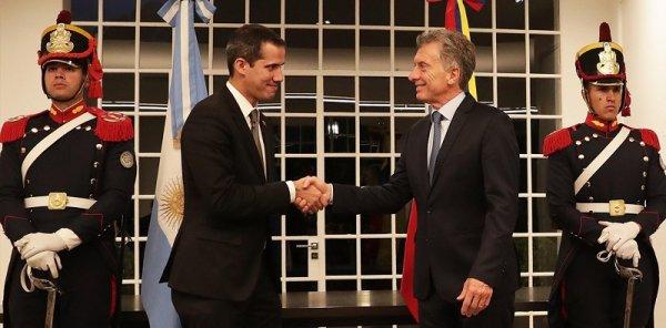 A pedir de Trump: el Gobierno argentino avaló el nuevo intento golpista en Venezuela