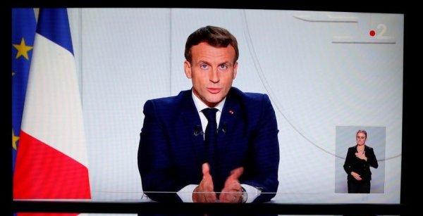 Macron anuncia una cuarentena total en Francia