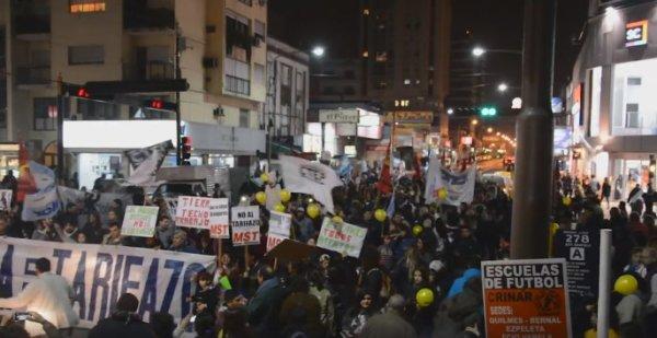 El #Ruidazo se hizo sentir en Quilmes