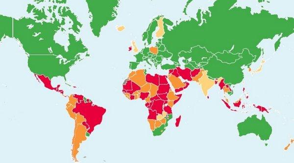 La situación del derecho al aborto en el mundo