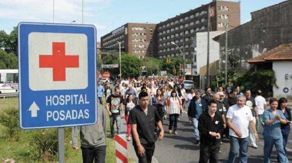 Ante la bronca, autoridades del Hospital Posadas retroceden: pagarán horas extras trabajadas