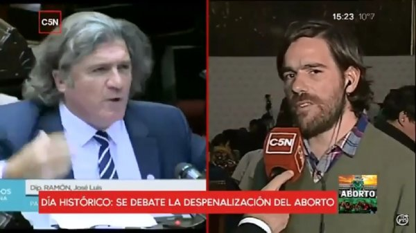 """[Video] Del Caño: """"No es aborto sí o no, es aborto legal o aborto clandestino"""""""