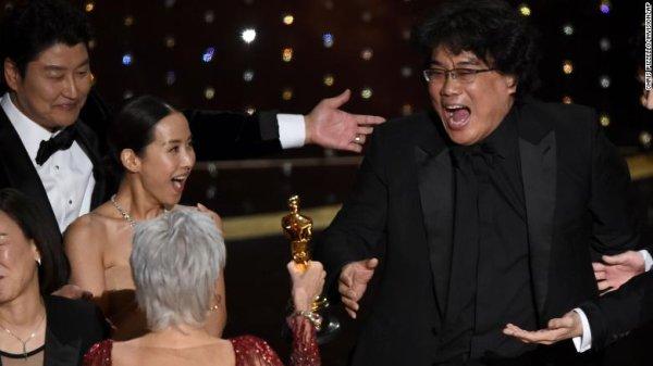 Óscar 2020: Parasite arrasó y se llevó el premio a la mejor película