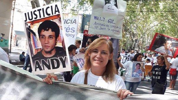 """Mónica Campoy: """"Los gendarmes que mataron a mi hijo siguen libres e impunes"""""""