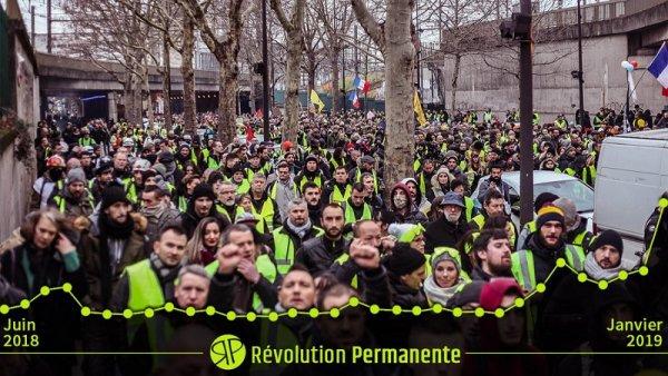 Impulsado por los chalecos amarillos, Révolution Permanente superó los 2 millones de visitas mensuales
