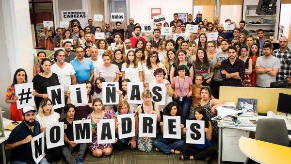 #NiñasNoMadres: el diario La Nación y su particular apología de la violación