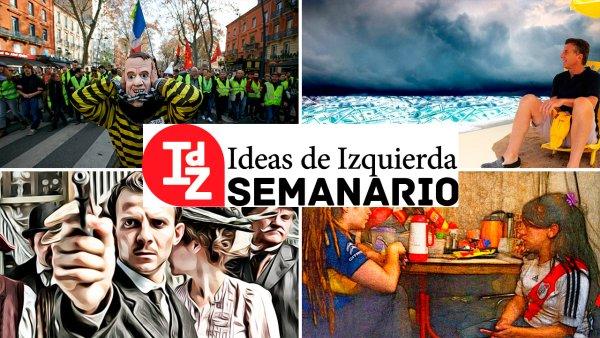 """En Ideas de Izquierda: la economía, entre el """"veranito"""" financiero y la depresión, el retorno del marxismo, Francia después de los chalecos amarillos, y más"""