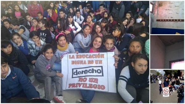 Secundaria 37 de Solano: la comunidad educativa se organiza por infraestructura y cupo de comedor