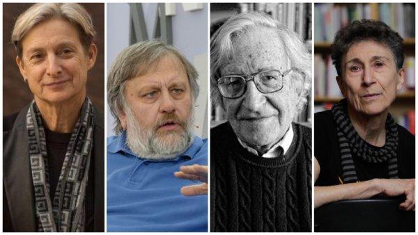Žižek, Butler, Chomsky y otros intelectuales rechazan la persecución política y la represión en Chile