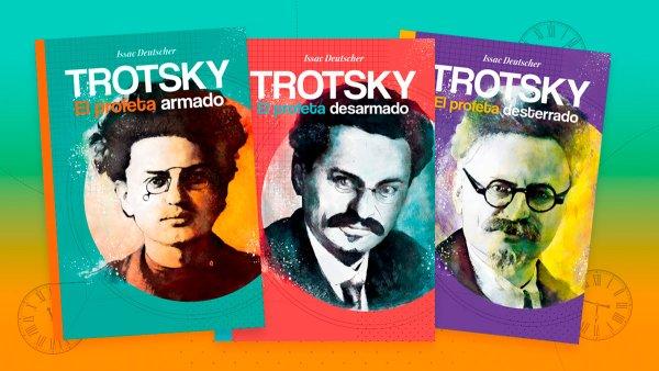 [80° aniversario] Ediciones IPS publicará la trilogía Trotsky de Isaac Deutscher por primera vez en Argentina