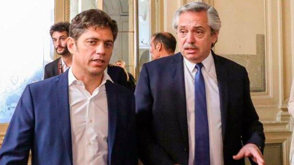 Alberto Fernández respaldó a Kicillof y avaló la brutal represión en Guernica