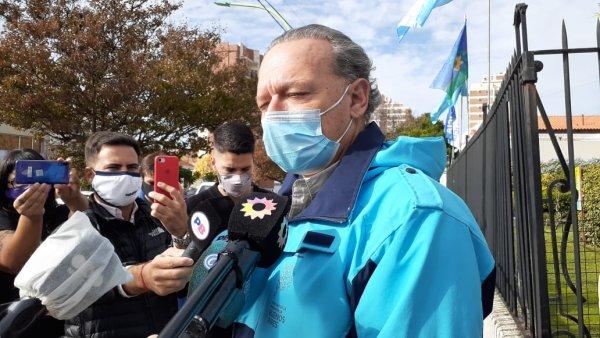 Berni entregó patrulleros en Bahía Blanca: más poder a la Policía del caso Facundo Castro