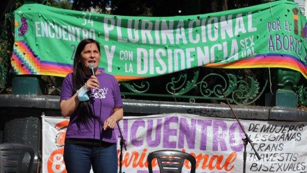 """Luana Simioni: """"La lucha que damos en las calles no está separada de la pelea en noviembre"""""""