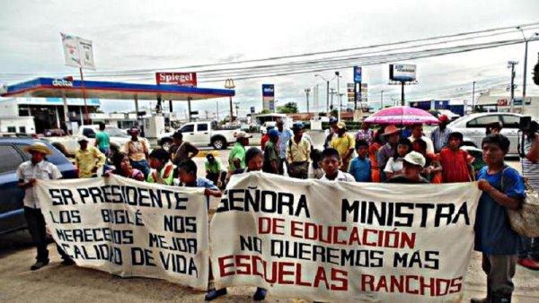 Nueva jornada de marchas y piquetes de docentes en Panamá